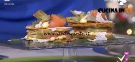 Detto Fatto - Millefoglie di salmone ricetta Tommaso Arrigoni