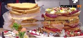 Panettone salato a quattro mani ricetta Mainardi e Persegani La Prova del Cuoco