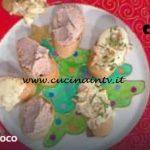 La Prova del Cuoco - Patè di mortadella e Paté di Camembert e noci ricetta Riccardo Facchini