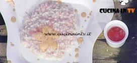 Perle di risaia allo spumante con bollicine a parte ricetta Barzetti La Prova del Cuoco
