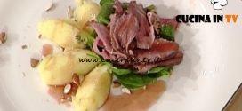 La Prova del Cuoco - Petto d'anatra all'arancia arrosto con patate schiacciate ricetta Francesca Marsetti