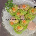 La Prova del Cuoco - Rotolo tricolore di semolino ricetta Sergio Barzetti