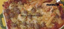 La Prova del Cuoco - Ziti al forno con ragù di maiale e polpettine ricetta Natale Giunta