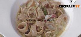La Prova del Cuoco - Calamarata integrale con triglia uvetta e finocchietto ricetta Natale Giunta