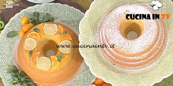 La Prova del Cuoco - Ciambellone agli agrumi con i kumquat caramellati ricetta Natalia Cattelani
