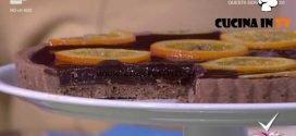 Detto Fatto - Crostata cioccolato e arance ricetta Franco Aliberti