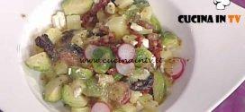 La Prova del Cuoco - Insalata con cavoletti di Bruxelles patate e ravanelli ricetta Ambra Romani