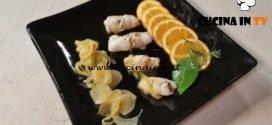 Cotto e mangiato - Involtini di branzino all'arancia ricetta Tessa Gelisio