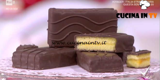 Detto Fatto - Merendina della festa ricetta Mirco Della Vecchia