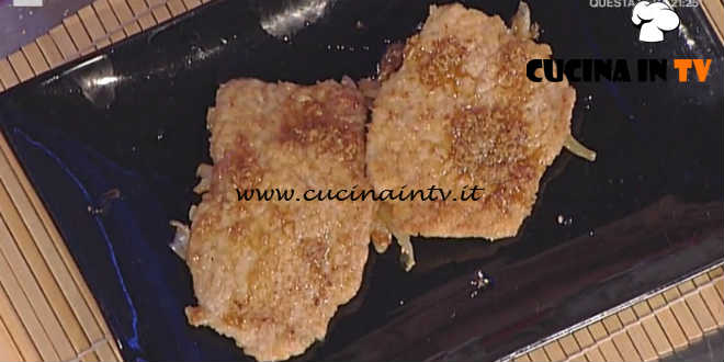 Prova del Cuoco | Milanesine allo zenzero con finocchi all'orientale ricetta Clerici