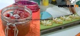 Domenica In - Mousse lampo al cioccolato ed ananas in frolla ricetta Benedetta Parodi