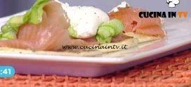 La Prova del Cuoco - Pancake con salmone robiola e zucchine ricetta Mauro Improta