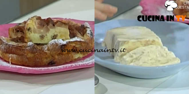 Domenica In - Panettorta e gelato al pandoro ricetta Benedetta Parodi
