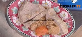 La Prova del Cuoco - Punta di vitello ripiena in brodo ricetta Daniele Persegani