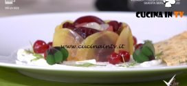 Detto Fatto - Rose di barbabietola ricetta Paolo Griffa