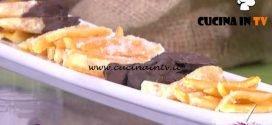 Detto Fatto - Scorze di arancia candita ricetta Luca Bonafini