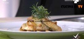 Detto Fatto - Tasca di pollo ripiena al gorgonzola ricetta Ilario Vinciguerra