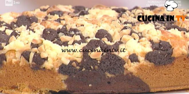 Prova Del Cuoco Torta Marmorizzata Con Crumble Bicolore Ricetta