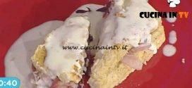 La Prova del Cuoco - Tramezzino di polenta con fontina bacon e radicchio ricetta Francesca Marsetti