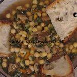 La Prova del Cuoco - Zuppa di ceci ed erbette ricetta Anna Moroni
