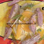 La Prova del Cuoco - Tournedos all'arancia con insalatina di finocchi allegri ricetta Cesare Marretti