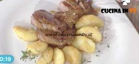 La Prova del Cuoco - Filetti di maialino alla senape con mele ricetta Cristian Bertol