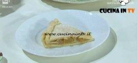Domenica In - Apple pie ricetta Benedetta Parodi