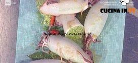 La Prova del Cuoco - Calamari ripieni di cous cous ricetta Sergio Barzetti