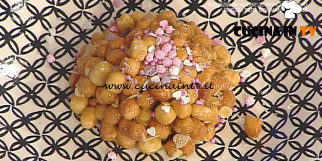 La Prova del Cuoco - Cicerchiata all'anice ricetta Ambra Romani