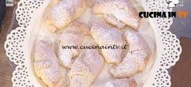 La Prova del Cuoco - Cornetti allo yogurt ricetta Anna Moroni