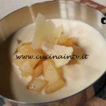 Cotto e mangiato - Crema di formaggio con dadolata di pere ricetta Tessa Gelisio