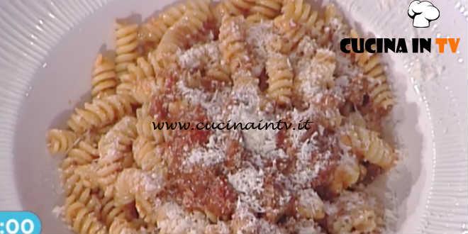La Prova del Cuoco - Fusilli con straccetti di manzo ricetta Ivano Ricchebono