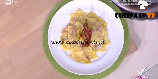 Detto Fatto | Girasoli ai carciofi e speck ricetta Beniamino Baleotti
