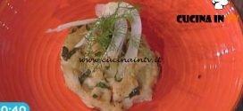 La Prova del Cuoco - Gratin di finocchi con anice stellato e gamberi ricetta Diego Bongiovanni