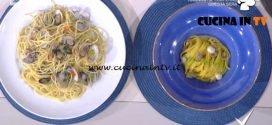 Detto Fatto - Linguine in crema di vongole ricetta Ilario Vinciguerra