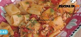 La Prova del Cuoco - Paccheri con marinara di gamberi ricetta Cesare Marretti