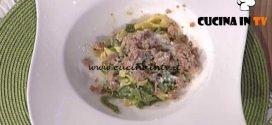 La Prova del Cuoco - Paglia e fieno con pecorino e salsiccia ricetta Marco Bottega