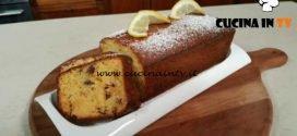 Cotto e mangiato - Plumcake al limone ricetta Tessa Gelisio