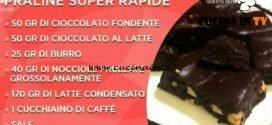 Domenica In - Praline super rapide ricetta Benedetta Parodi