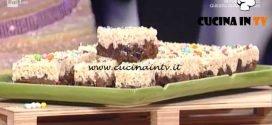 La Prova del Cuoco - Riso soffiato ai due cioccolati ricetta Natalia Cattelani