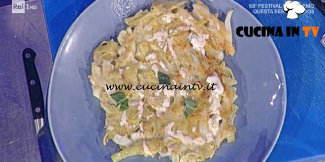 La Prova del Cuoco - Seppie e carciofi ricetta Gianfranco Pascucci