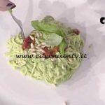 La Prova del Cuoco - Spaghetti alla chitarra con pesto di broccoli ricetta Ambra Romani