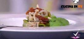 Detto Fatto - Tagliatelle ai calamari e pesto scomposto ricetta Ilario Vinciguerra
