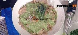 La Prova del Cuoco - Testaroli al pesto d'inverno ricetta Luisanna Messeri