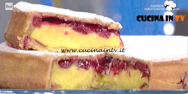 Prova del Cuoco | Pasticciotti con crema pasticcera e amarene ricetta De Riso