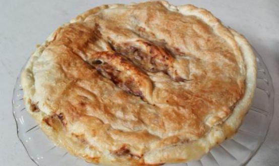 Cotto e Mangiato   Torta salata carciofi e sgombro ricetta Tessa Gelisio