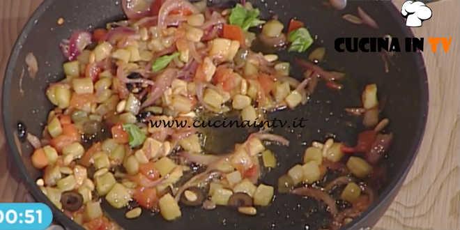 La Prova del Cuoco - Caponata di Agata ricetta Francesca Marsetti