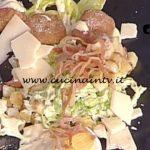 La Prova del Cuoco - Caesar salad con pollo uova alici e guanciale croccante ricetta Gian Piero Fava