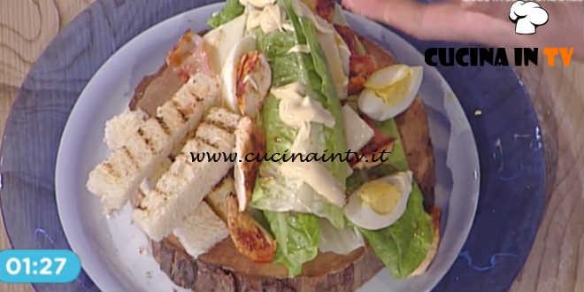 Prova del Cuoco | Caesar salad con pollo alla paprika uova e bacon ricetta Marretti