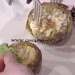 La Prova del Cuoco - Carciofi al forno con besciamella e prosciutto cotto ricetta Cristian Bertol